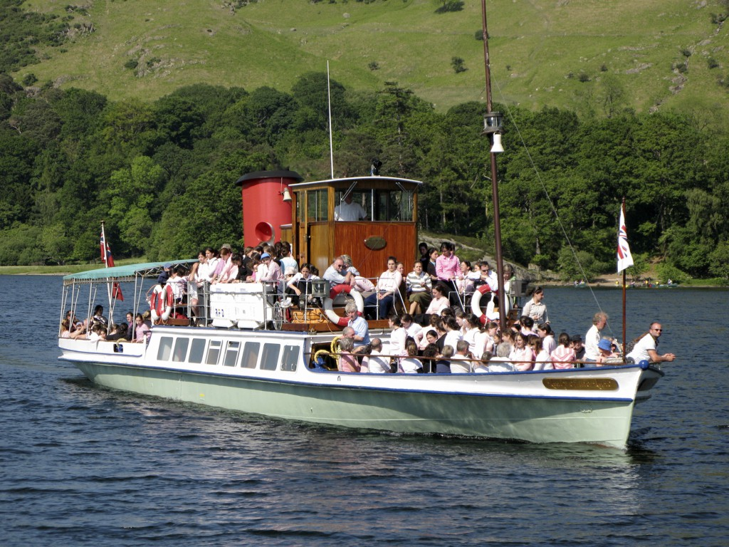 © Steven Barber Photography - Ullswater Steamer Photography for Brochure and promotion only. No commercail use such as postcards or calenders without prior permission from the copyright holder